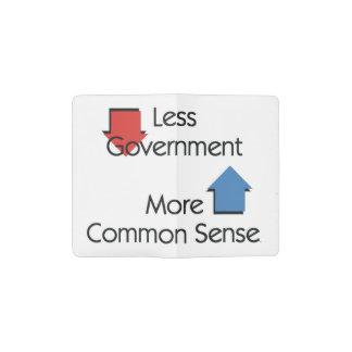 TEE Less Government Pocket Moleskine Notebook