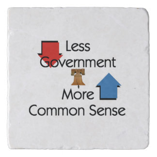 TEE Less Government Trivet