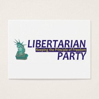 TEE Libertarian Business Card