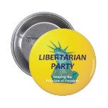 TEE Libertarian Button