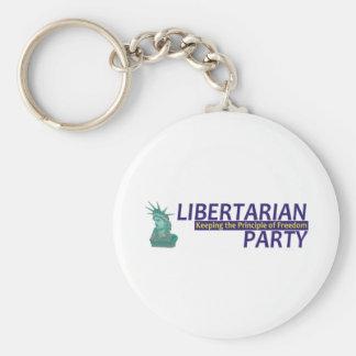TEE Libertarian Keychain