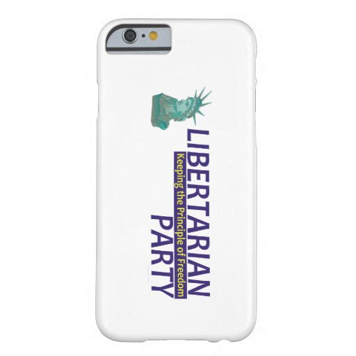 TEE Libertarian Party iPhone 6 Case