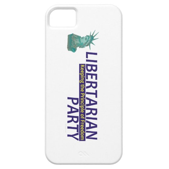 TEE Libertarian Party iPhone SE/5/5s Case