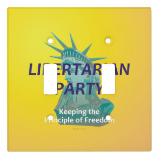TEE Libertarian Party Light Switch Cover