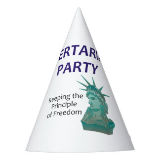 TEE Libertarian Party Party Hat