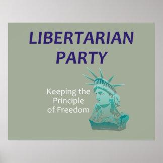 TEE Libertarian Party Poster