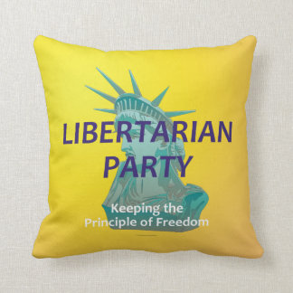 TEE Libertarian Party Throw Pillow