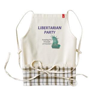 TEE Libertarian Party Zazzle HEART Apron