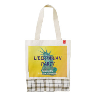 TEE Libertarian Party Zazzle HEART Tote Bag