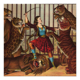 TEE Lion Queen Poster