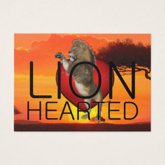 TEE Lionhearted Business Card