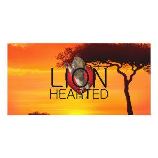 TEE Lionhearted Card