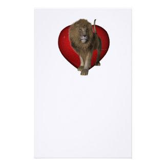 TEE Lionhearted Stationery