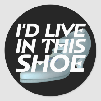 TEE Live for Shoes Classic Round Sticker