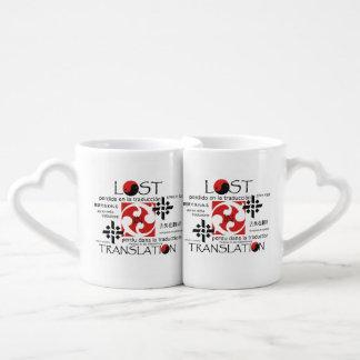 TEE Lost in Translation Coffee Mug Set