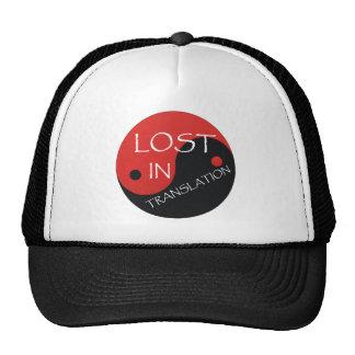 TEE Lost in Translation Trucker Hat