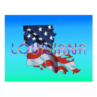 TEE Louisiana Patriot Postcard