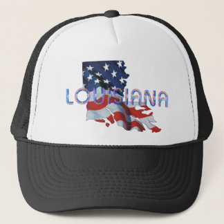TEE Louisiana Patriot Trucker Hat