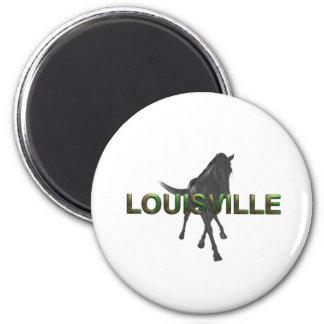 TEE Louisville 2 Inch Round Magnet