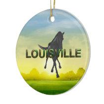 TEE Louisville Ceramic Ornament