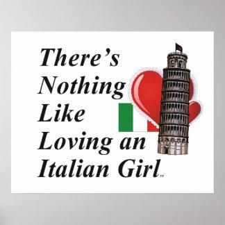 TEE Love Italian Poster