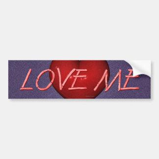 TEE Love Me Bumper Sticker