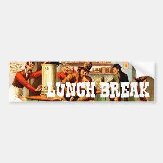 TEE Lunch Break Bumper Sticker