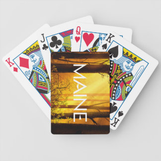 TEE Maine Bicycle Playing Cards