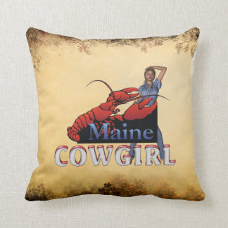 TEE Maine Cowgirl Pillows