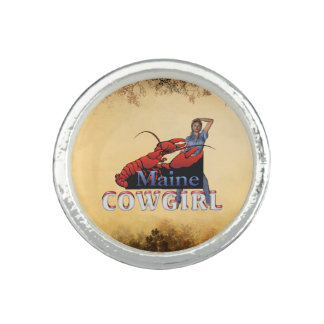 TEE Maine Cowgirl Photo Ring