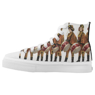 TEE Marching Band Fan High-Top Sneakers