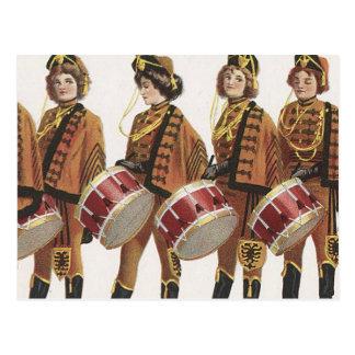 TEE Marching Band Fan Postcard