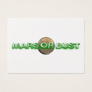TEE Mars Or Bust Business Card