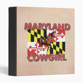 TEE Maryland Cowgirl Binder