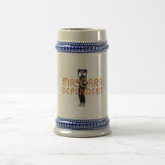 TEE Mascara Dependent Beer Stein