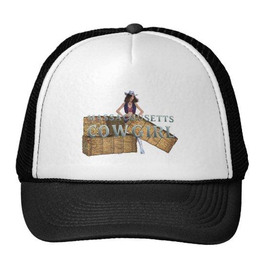 TEE Massachusetts Cowgirl Trucker Hat