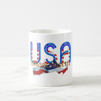 TEE Massachusetts Patriot Classic White Coffee Mug
