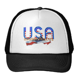 TEE Massachusetts Patriot Trucker Hat