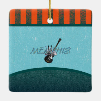 TEE Memphis Ceramic Ornament