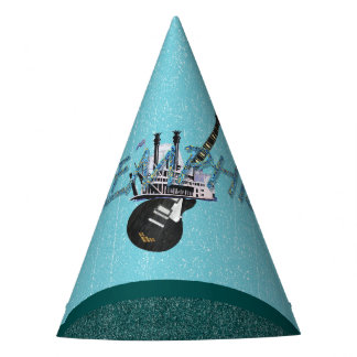 TEE Memphis Party Hat