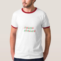 TEE MENS ITALIAN STALLION TEE SHIRT