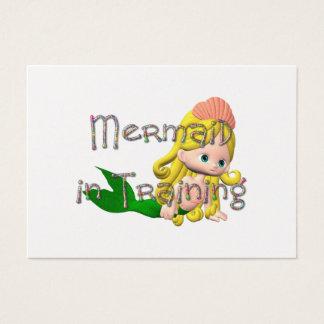 TEE Mermaid in Training Business Card