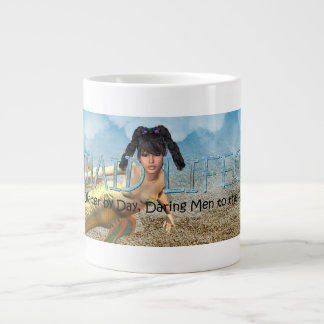 TEE Mermaid Lifeguard Giant Coffee Mug