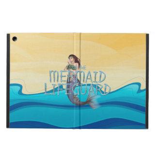 TEE Mermaid Lifeguard iPad Air Cover