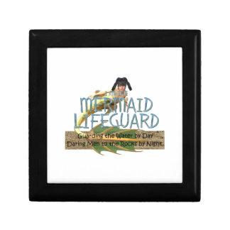 TEE Mermaid Lifeguard Keepsake Box