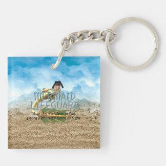 TEE Mermaid Lifeguard Keychain