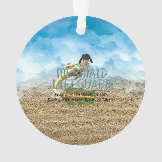 TEE Mermaid Lifeguard Ornament