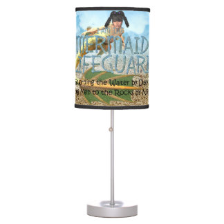 TEE Mermaid Lifeguard Table Lamp