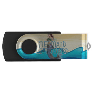 TEE Mermaid Lifeguard USB Flash Drive