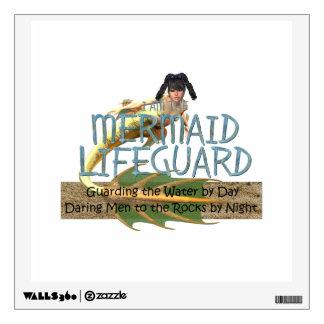 TEE Mermaid Lifeguard Wall Sticker